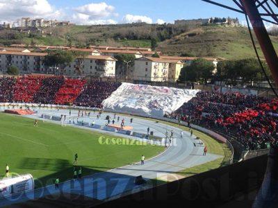 Cosenza Calcio Curva Tifosi Centenario