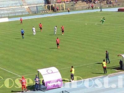 Nuova Cosenza - Gavorrano: 1-0
