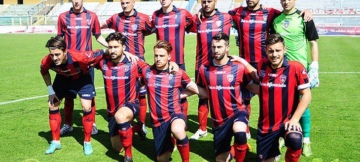 Nuova Cosenza - Gavorrano, 30-03-2014 la formazione rossoblu