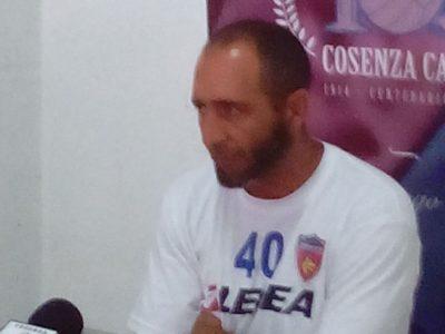 Roberto Cappellacci allenatore Cosenza calcio