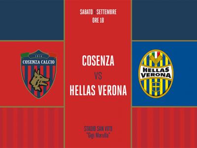 Cosenza - Hellas Verona